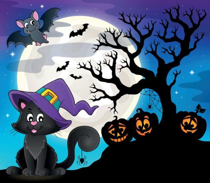 Halloween themed graphic